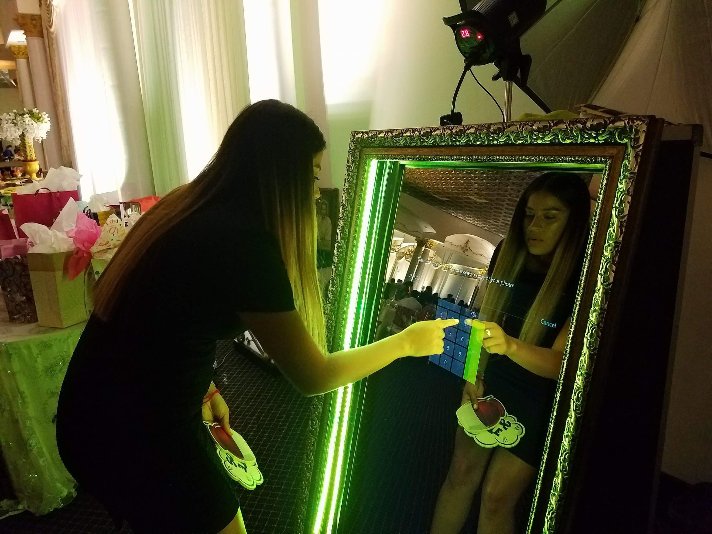 mirror photo booth rental new braunfels