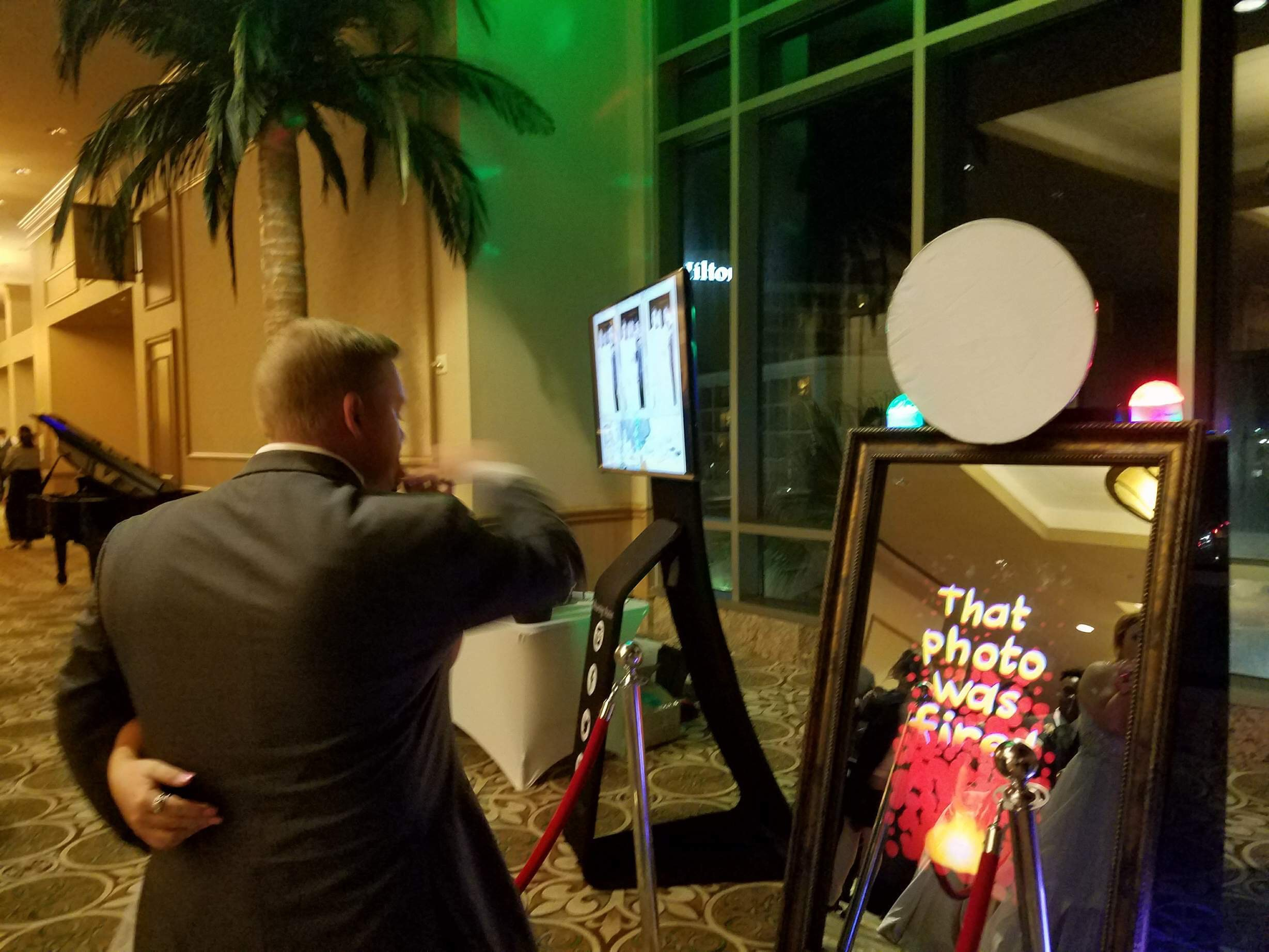 mirror photo booth boerne